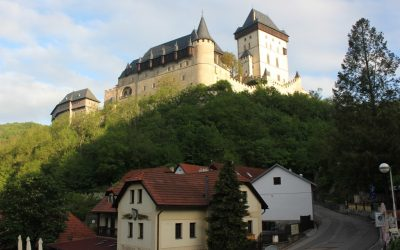 Wanderung auf der tschechischen Südvariante des Jakobsweges